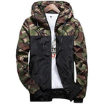 Fashion Brand Military Style Jacket Men Camouflage Patchwork Long Sleeve Jacket Streetweareticdress-eticdress