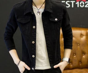new 2018 autumn fashion denim jacket of cultivate one's morality men eticdress-eticdress