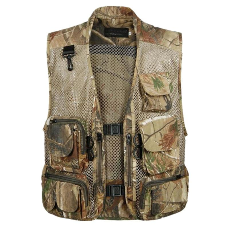 Fisherman Vests for Men Hunter Mesh Vest Special Forces SWAT Tactical Militaryeticdress-eticdress