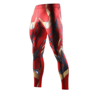 New Flash Marvel superhero man 3D Printed Compression Tights Pants Men Fitnesseticdress-eticdress