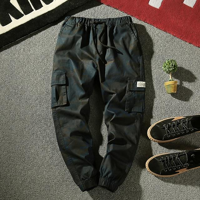 M-4XL 2017 Autumn Pencil Harem Pants Men Camouflage Military Pants Looseeticdress-eticdress