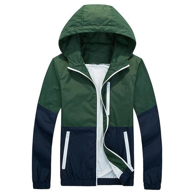 2018 Thin Hoodie Jacket Men Windbreaker Spring Autumn Mens Jackets Hooded Casualeticdress-eticdress