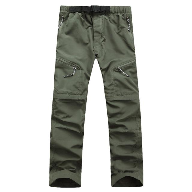 Quick Dry Outwear Pants Men Removable FishingHikingCamping Breathable Pants Mens Brand UVeticdress-eticdress