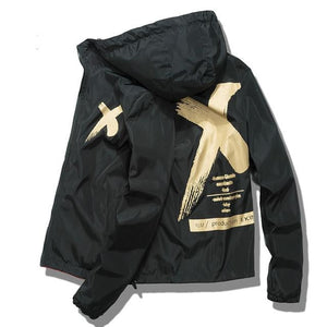 Autumn Men Women Hooded Jacket Fashion Hip Hop Jacket Youth Boys Printingeticdress-eticdress