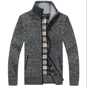 New 2018 thick men's knitted jacket, casual men's coateticdress-eticdress