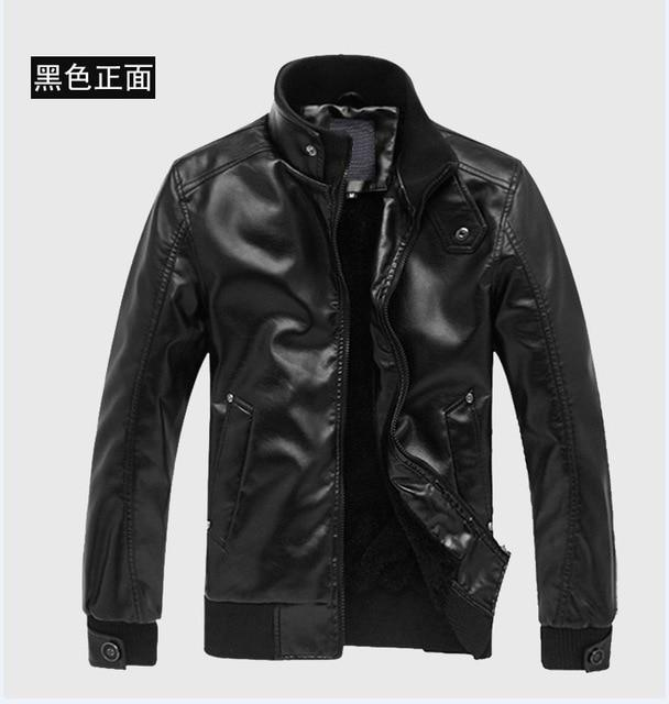 2018 New Mens Jackets PU Clothing Locomotive Men Clothing Coat Men'S Leathereticdress-eticdress