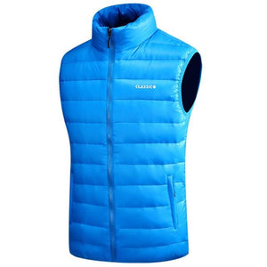 Winter Warm Down Vest For Men Autumn Casual Male White Duck Downeticdress-eticdress