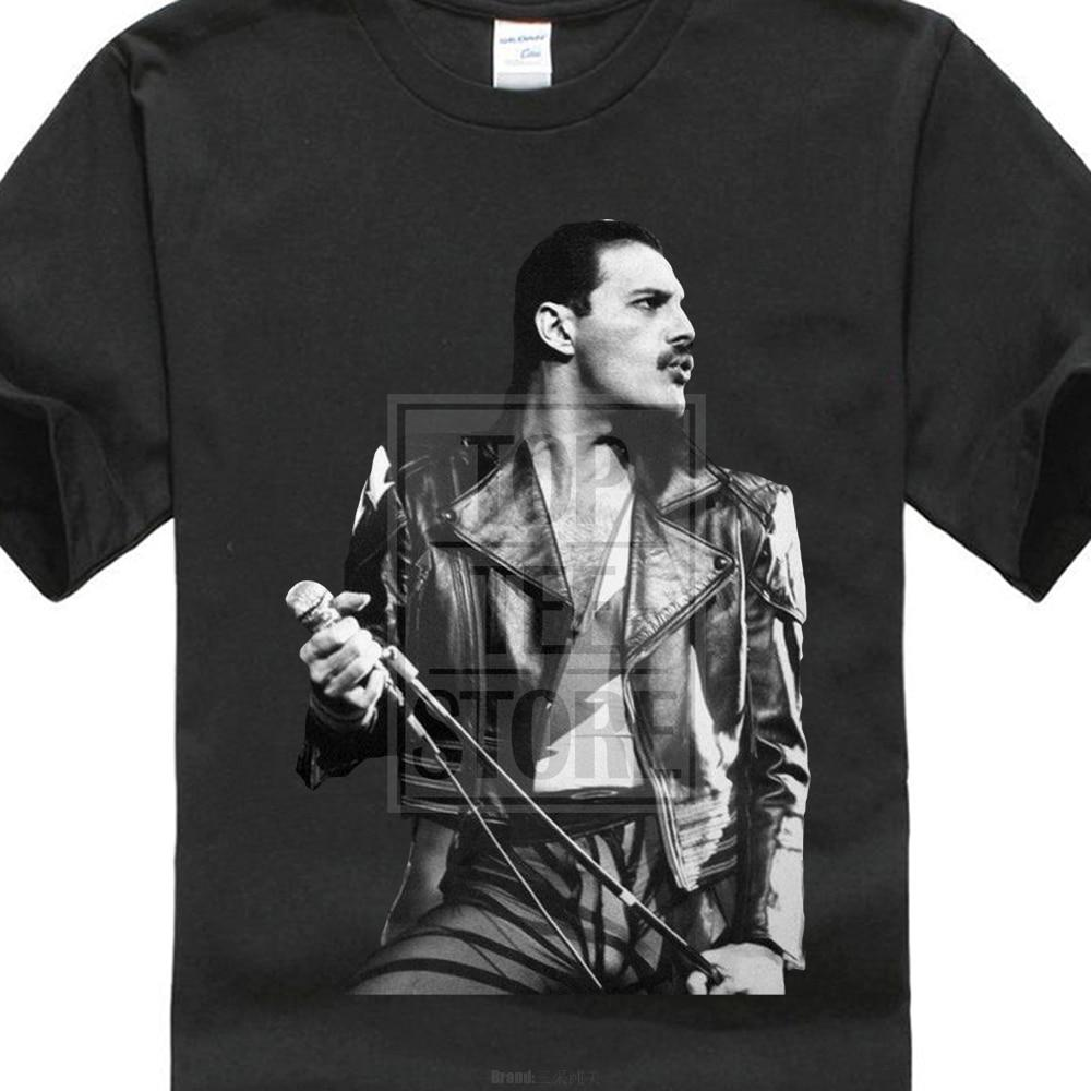 Freddie Mercury Queen British Rock Legend Men'S Gildan T Shirt Black Seticdress-eticdress