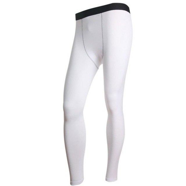 Men Long Thermal Base Layer Tights Warm Pants Plush Underwear Trousers Elasticeticdress-eticdress