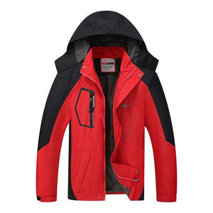 2018 Hooded Fashion Windproof Jackets Mens Autumn Winter Jacket Windbreakereticdress-eticdress