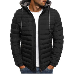 New Mens Fashion Winter Coat Men Hooded Jacket Cotton Casual mens Jacketseticdress-eticdress
