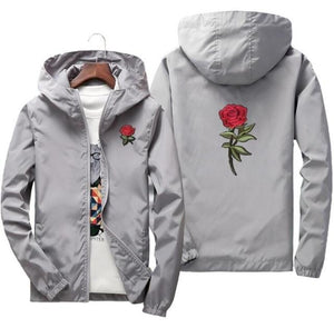 rose jacket windbreaker men women jaqueta masculina spring autumn college jacketseticdress-eticdress