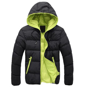 2018 Winter Jacket Men Plus Size Fashion Solid Mens Parkas Casualeticdress-eticdress