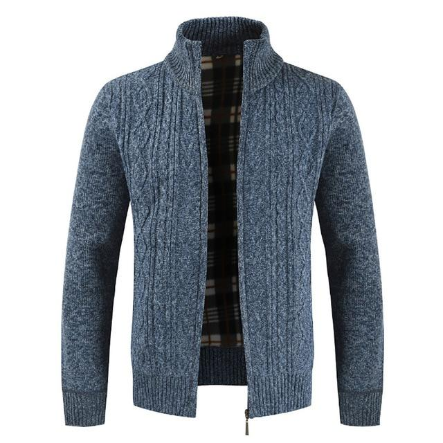 Jacket Men 2018 Autumn Winter Cardigan Outerwear Fashion Standeticdress-eticdress