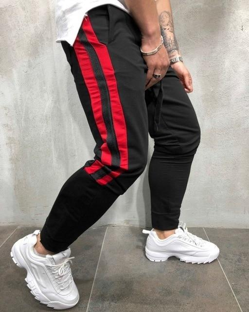 2018 Spring Mens Joggers Pants Korean Fashion Sweatpants Men Sweat Pants Streetweareticdress-eticdress