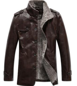 2018 New Leather Jacket Men Coats Brand High Quality PU Outerweareticdress-eticdress