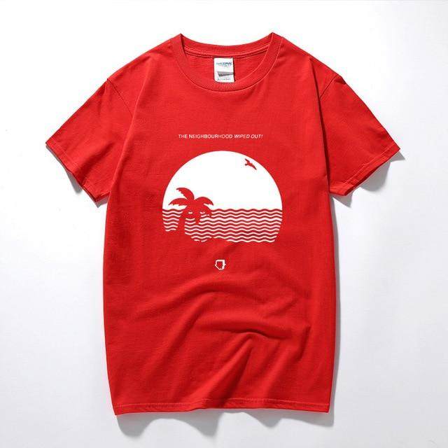 RAEEK male funny present The Neighbourhood Wiped Out T-Shirt House Album Beacheticdress-eticdress