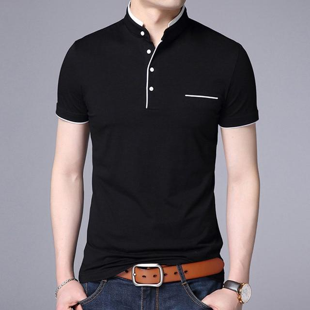 Drop Shipping 2018 New Fashion Brand Summer Short Sleeve T-shirt Men Cottoneticdress-eticdress