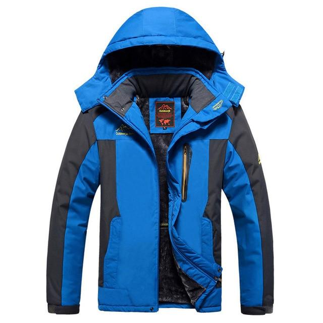 drop shipping men winter jackets plus velvet warm windproof parkas mens militaryeticdress-eticdress