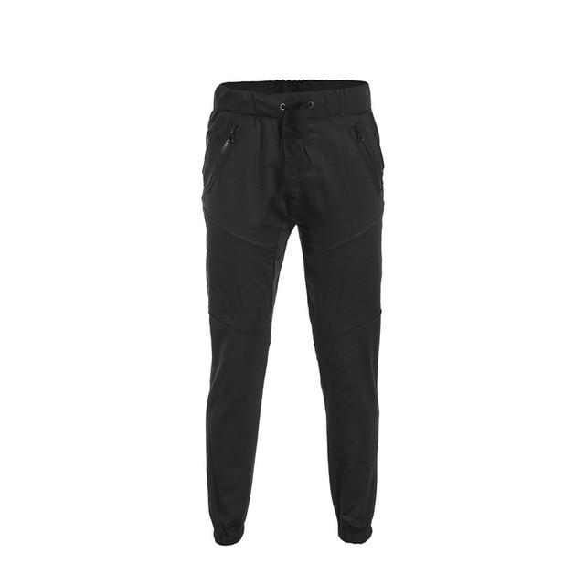 Mens Long Casual Elastic Pants Slim Fit Trousers Pencil Jogger Sweatpants Meneticdress-eticdress
