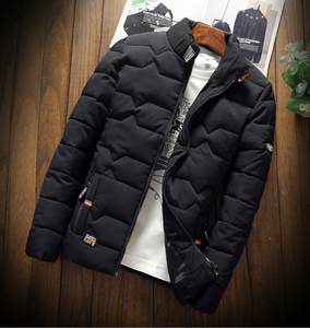 Men's Winter Jacket 2018 New Autumn Fashion Brand Men's Casual Slim Fiteticdress-eticdress