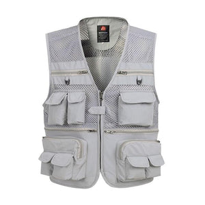 Multi Pocket Baggy Vest For Men 2018 Summer Male Casual Thin Mesheticdress-eticdress