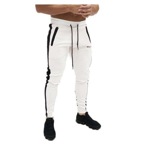 Autumn Fitness Gyms Men Pants Full Length printing Pants Sweatpants Fashion Trouserseticdress-eticdress