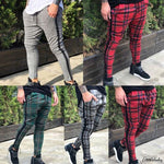 Hirigin Jogger Plaid Pants 2018 New Mens Fleece Lined Track Pants Tracketicdress-eticdress