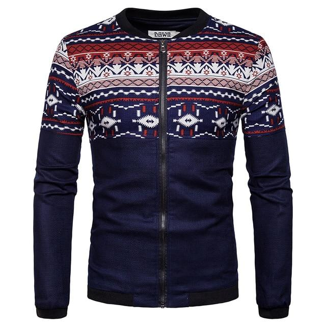 New Spring Autumn Casual Solid Fashion Slim Men Bomber Jacket Male Baseballeticdress-eticdress