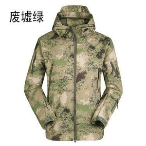TAD Tactical Softshell Jacket Men Army Waterproof Huntingclothes Jackets Men's Military Jacketeticdress-eticdress