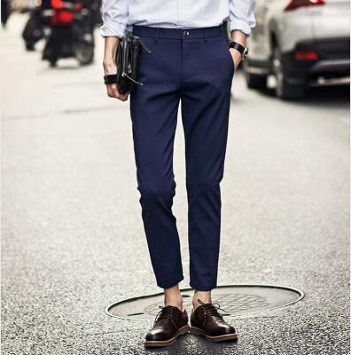 Dress Pants Men New British Style Gentleman Trousers Casual Favourite Suit Fashioneticdress-eticdress