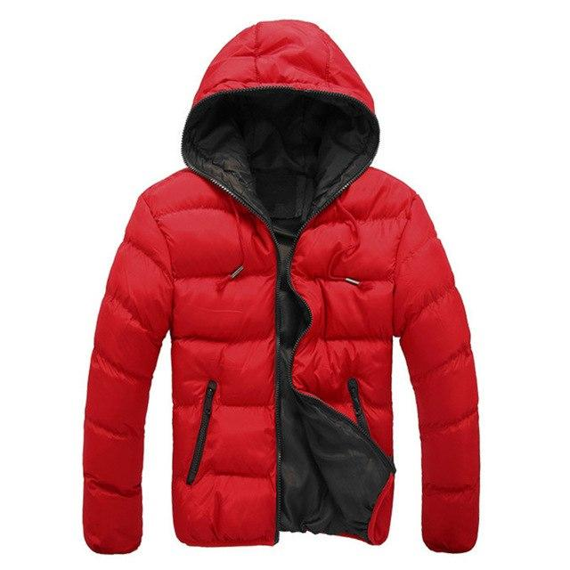 Man Winter Autumn Quilted Outwear Coat Men Plus Size Hooded Puffer Jacketeticdress-eticdress