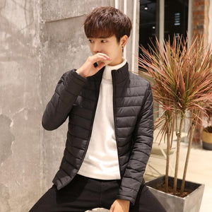 Mens Winter Coat High Quality Slim Fit Male Jacket Fashion Coats Casualeticdress-eticdress
