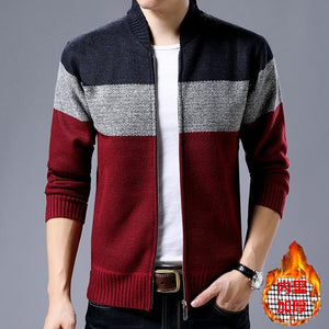 Men's sweater jacket Novel ideas knitting thick 2018 Men's Brand Casual Sweaterseticdress-eticdress