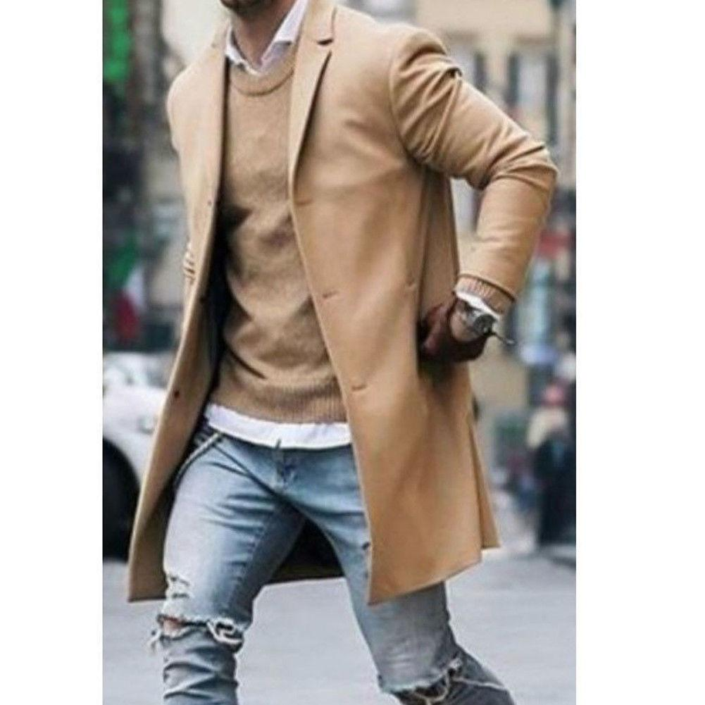 2018 New Style Fashion Hot Men's Wool Coat Winter Warm Coat Outweareticdress-eticdress