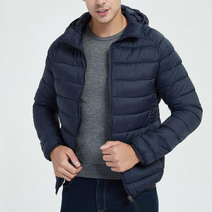 Jacket Men Autumn Winter Style Light Weight Overcoat Outerwear Warm Polyester Casualeticdress-eticdress
