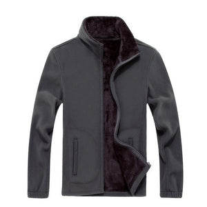 Winter New XL 8XL Mens Fleece Casual Jackets Men Warm Sweatshirt Thermaleticdress-eticdress