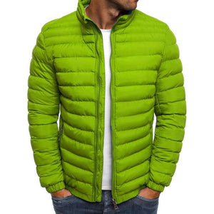 Spring Zipper Jacket Men Clothes 2018 Male Parka Jacket Mens Solideticdress-eticdress