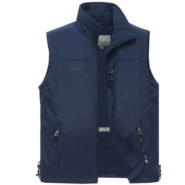 Multi Pocket Thin Summer Men Vest With Many Pockets Casual Photographer Worketicdress-eticdress