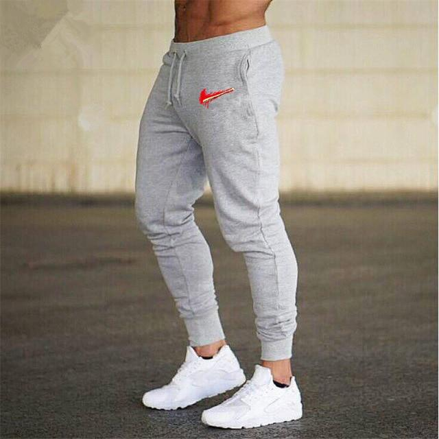 Men Joggers Brand Male Trousers Casual Pants Sweatpants Men Gym Muscle Cottoneticdress-eticdress