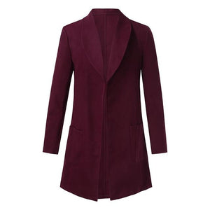 Fashion Men's Winter Warm Slim Fit Trench Coat Jacket Long Sleeve Outweareticdress-eticdress