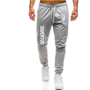 2018 Autumn New Mens pants juventus Printed Casual Fashion Jogger Knee Lengtheticdress-eticdress