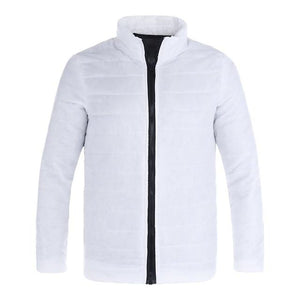 Winter Autumn Solid Casual Jacket Men Men's Cotton Blend Mens Thicketicdress-eticdress