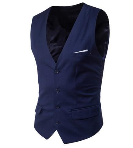 High quality New Korean Small vest Male 2018 Business casual vest Maleeticdress-eticdress