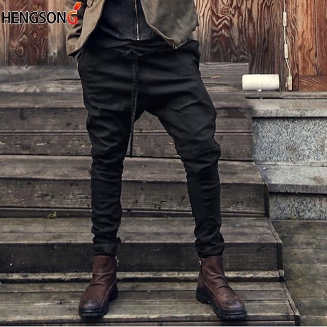 New Casual Men Harem Pants Autumn Spring Loose Casual Pants Trousers Cottoneticdress-eticdress