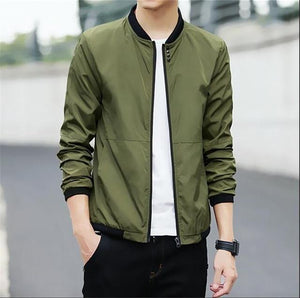 Big Size 4XL 5XL Mens Spring Summer Jackets Casual Thin Male Windbreakerseticdress-eticdress