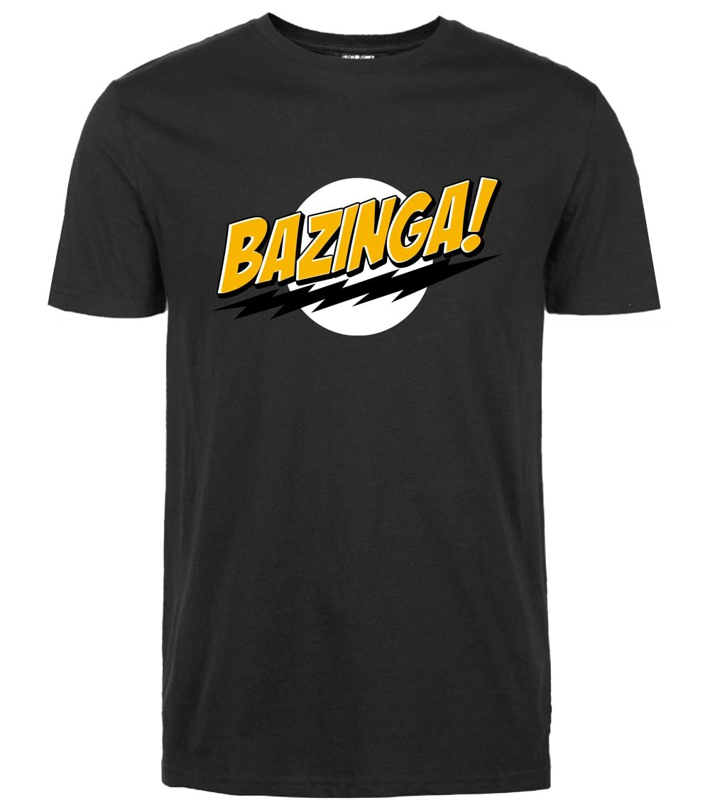 funny t shirt The Big Bang Theory Bazinga 2019 summer casual Fashioneticdress-eticdress
