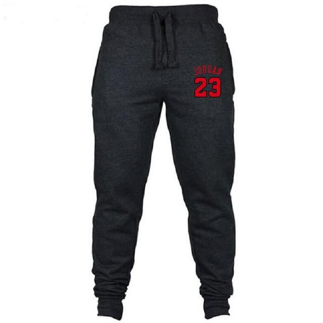 2018 New Brand Jordan 23 Joggers Pant Men Leisure Sweatpants Bodybuilding Casualeticdress-eticdress