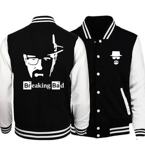 Breaking Bad Heisenberg Plus Size Men Jacket 2019 Spring Hot Sale Baseballeticdress-eticdress