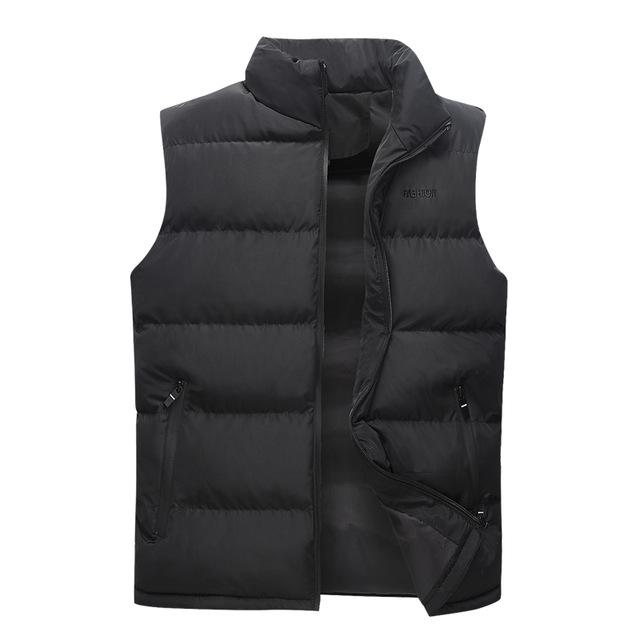 Brand Clothing Mens Casual Waistcoat Male Sleeveless Jacket High Quality Casual Vesteticdress-eticdress